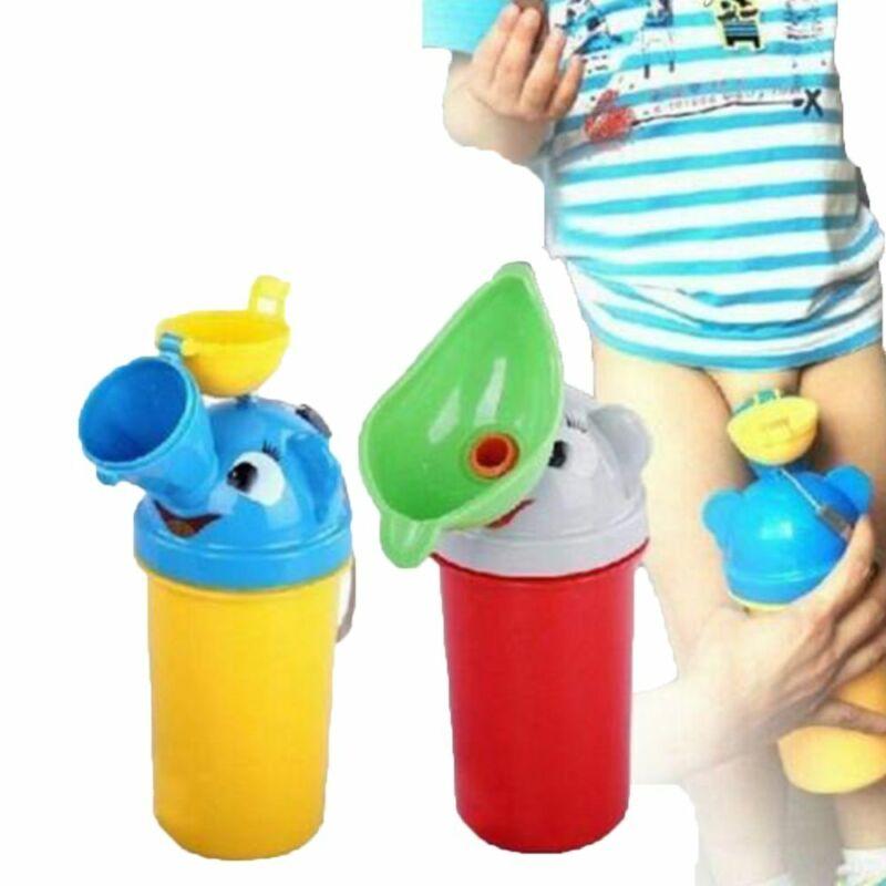 Tragbares Baby-Urinal Auslaufsicheres Mini-Reise-Auto-Toiletten-Kindertöpfchen