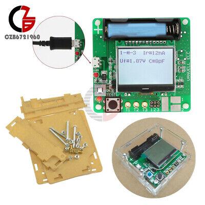 Transistor Inductor-capacitor Esr Meter M328 Digital Lcd Tester Case