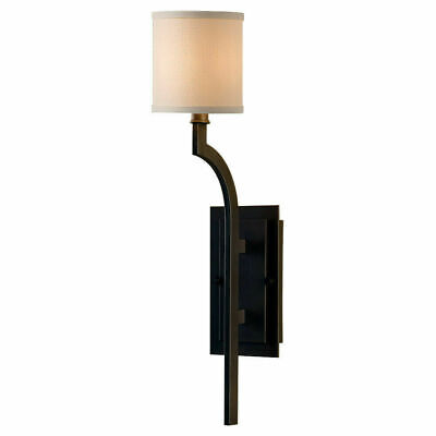 Transitional Wallchiere - Feiss WB1470ORB Oil Rubbed Bronze Stelle 1-Light Wallchiere Sconce