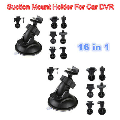 2Sets 8in1 Mount Bracket For Dash Cam A119 A129 GPS G1W-CB HD WIFI Action Cam