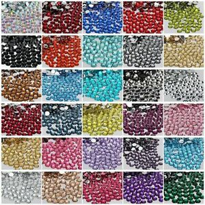2000-Pcs-Wholesale-Crystal-Flat-Back-Acrylic-Rhinestones-Gems-21-Colors-2mm