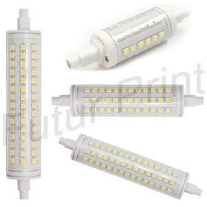 LAMPADINA LED LINEARE 2835 SMD R7S DA 7W 12W 15W A LUCE ...