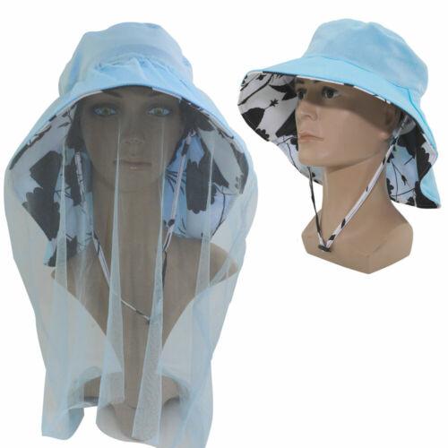 outdoor mosquito head net hat sun hat