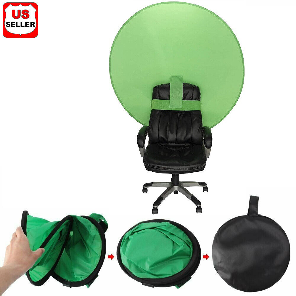 56inch Round Green Screen Backdrop Photography Background for Photo Video Studio Background Material