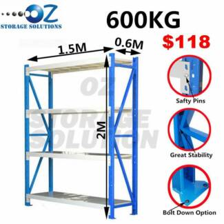 New Heavy Duty Garage Storage Warehouse Shelving Rack Workbench Darra Brisbane South West Preview