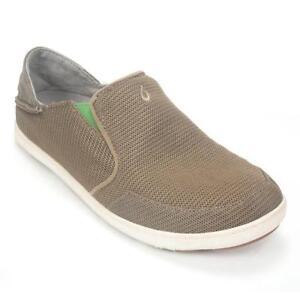 467997f5f7bb OluKai Mens Nohea Mesh Slip on Shoe 10 M Mustang lime Peel for sale ...