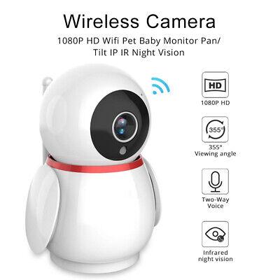 2.4GHz Wireless Video Baby Monitor Camera 2-Way Talk Night Vision Audio Track