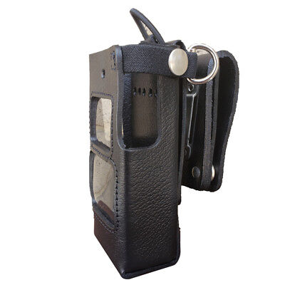 Case Guys Hy3010-3awd Hard Leather Holster For Hytera Pd662 Radios