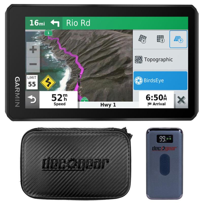 "Garmin zumo XT 5.5"" Bluetooth Hands-Free Motorcycle Navigator GPS w/ Power Bank"
