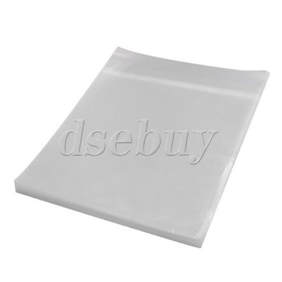 100PCS Thickening Plastic 12 Inches Square LP Vinyl Records Sleeve Cover