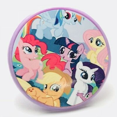 My Little Pony Cupcake Toppers Rings Birthday Party Favors - 16 pcs](My Little Pony Cupcake Toppers)