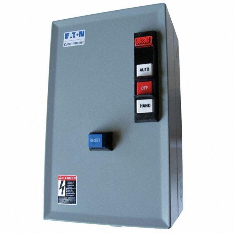 EATON 240VAC Nonreversing IEC Magnetic Motor Starter ECX09G1BJA-R63/D