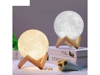 All size Rechargeable Moon Lamp 2 Color