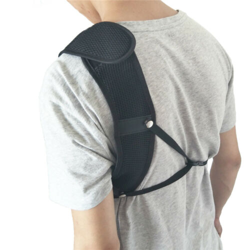 Archery Chest Guard Protector Gear Nylon Adjustable Straps Left Side Bow Hunting