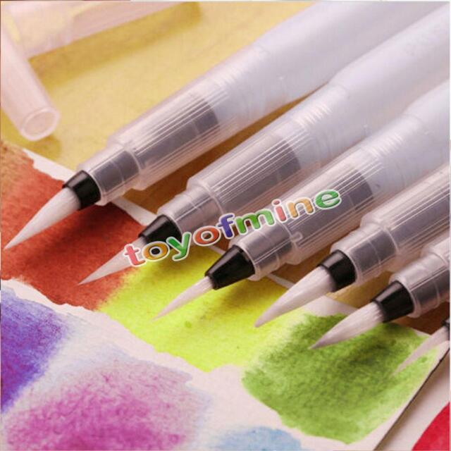 3pcs Pilot Ink Pen for Water Brush Watercolor Calligraphy Painting Tool Set BS