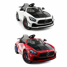 MERCEDES GT AMG 12V KIDS RIDE-ON CAR WITH PARENTAL REMOTE