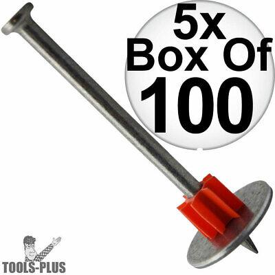 Ramset Powder Fastening Systems 3-Inch Pin w//Ramguard 100 per box