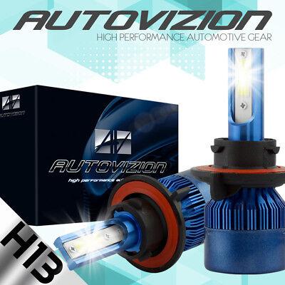 AUTOVIZION LED Headlight kit H13 9008 White for 2013-2016 Mini Cooper Paceman