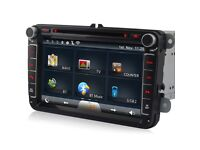 """Volkswagen 8""""inch Wifi /Internet Touch Screen Car Dvd Player For VW Passat Golf EOS Polo"""