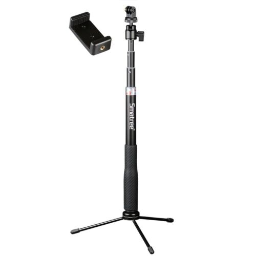Smatree Selfie Stick with Tripod Stand for GoPro Hero Fusion/8/7/6/5,Ricoh Theta