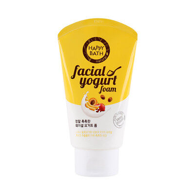 Happy Bath Facial Yogurt Foam Moisture Facial Cleanser 120g K beauty Korea