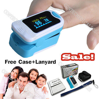 Cms50na Oled Fingertip Pulse Oximeter Spo2 Pr Monitor Blood Oxygen Metercase