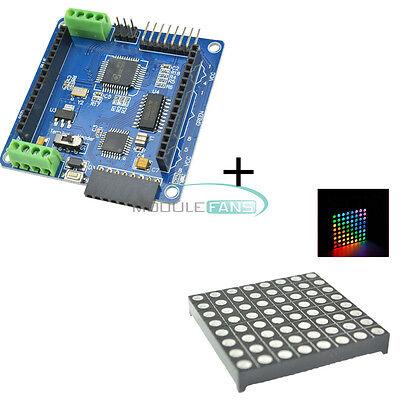 Led Rgb Matrix Module Driver Board 8x8 Dot Matrix For Arduino Avr Top