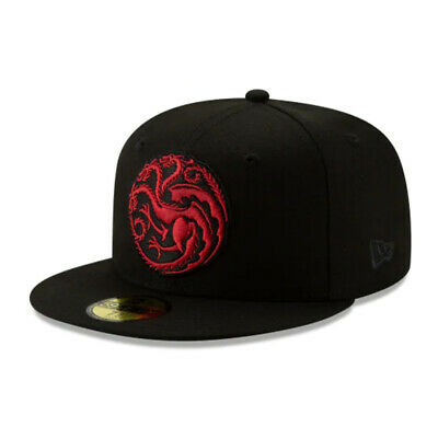Game of Thrones HBO Authentic New Era House Targaryen 59FIFTY Fitted Cap -7 1/4