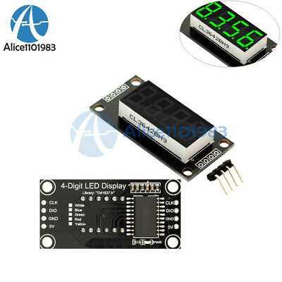 0.36 Tm1637 7-segment 4-bit Digital Tube Led Green Display Module For Arduino