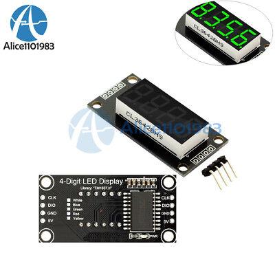 0.36 Tm1637 7-segment 4-bit Digital Tube Led Green Display Module For Arduino