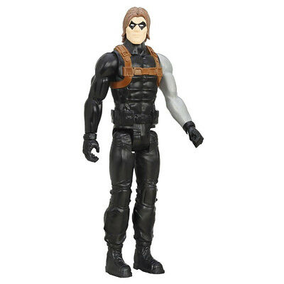 "Winter Soldier Titan Hero Spiderman Series Figur 12"" NEU"