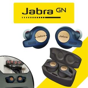 Jabra Elite Active 65t Alexa Enabled True Wireless Sports Earbuds with Charging Case  Copper Blue Condtion: Lightly ...