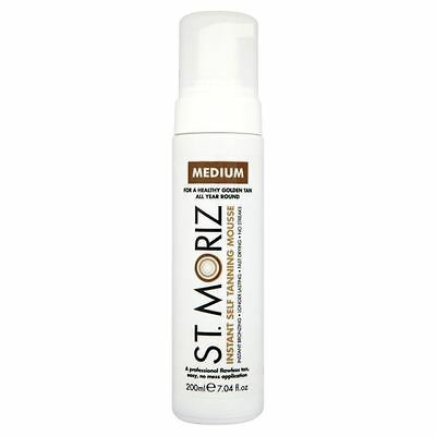 St Moriz Instant Self Tanning Mousse Medium 200ml