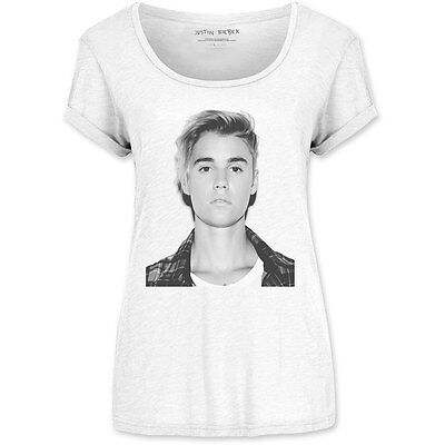 Justin Bieber Love Yourself Poster Album Cover Official White Womens T-shirt