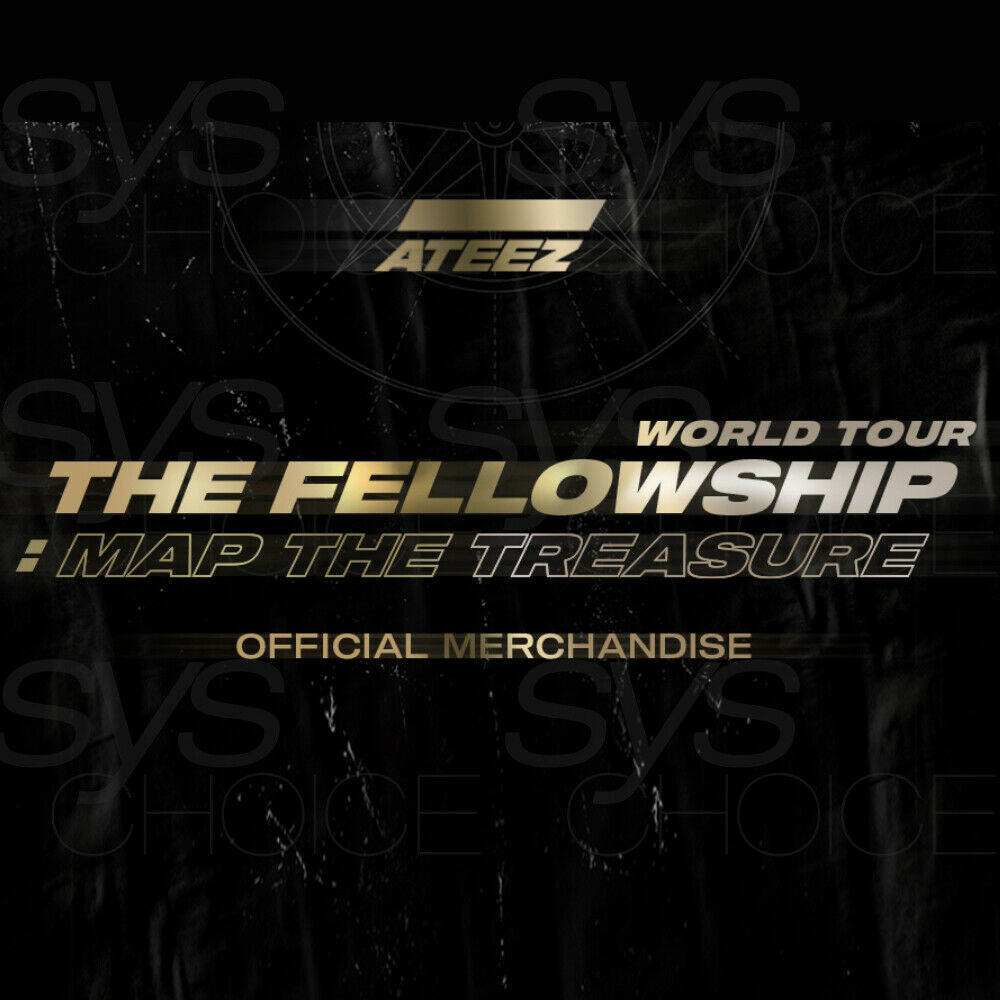 Map The Treasure Concert Official Merchandise Goods Md Ateez World Tour The Fellowship