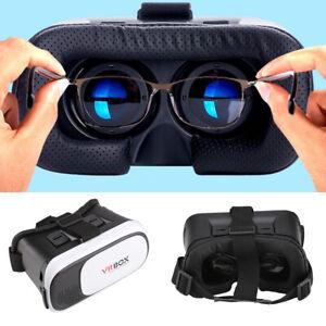 3D VR BOX Virtual Reality Glasses Goggles Helmet Headset Goggles Smart Phones