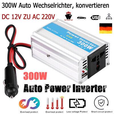 Spannungswandler Wechselrichter Auto Power Inverter Converter 300W 12V 220V HDS1 Auto-power-inverter