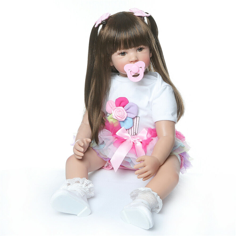 Large Toddler Reborn Girl 24inch Quality Made Reborn Baby Do