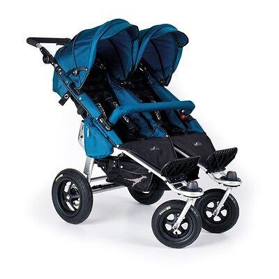 Trends For Kids Twinner Twist Duo Double Stroller In Ocean B