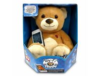 Toy - Fi Teddy - Plush Soft Toy works with most smart phones & tablets NEW&BOXED
