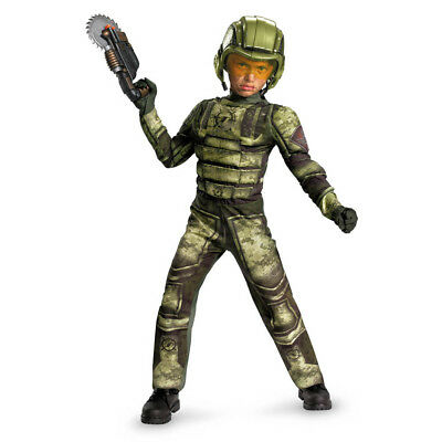 Child RED SECTOR Foot Soldier Classic Muscle Costume ](Foot Soldier Costume)