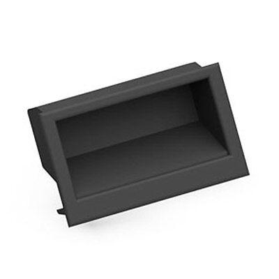 Recessed Pull Handle Cabinet Drawer Rectangular Flush Finger # 074 Mesan ()