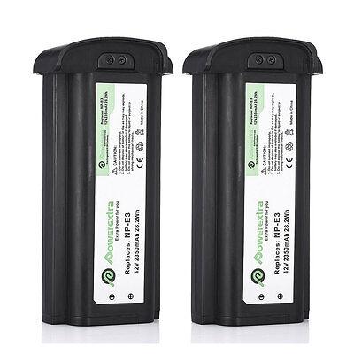 For Canon Eos 1d 1ds Mark Ii Battery Np-e3 Npe3 / 2350mah...