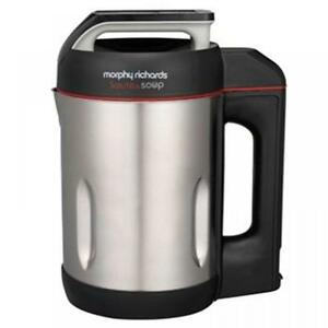 MORPHY RICHARDS ELECTRIC SAUTE & SOUP MAKER BRUSH STAINLESS STEEL MACHINE 501014