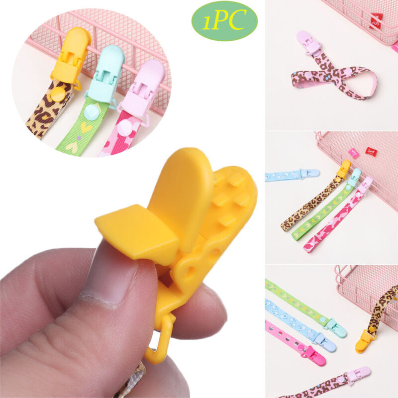 Adjustable Length Nipple Strap Baby Teething Pacifier Chain Soother Dummy Clips