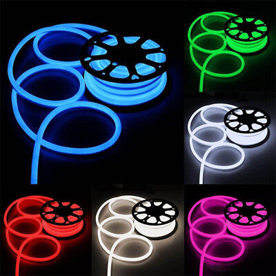 (LED Flexible Neon Rope Light Room Party Commercial Lighting Strip Outdoor 110V)