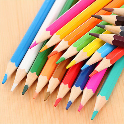 12 Color Set Small Pencil Painting Pen Color Lead Pencil Wood pencil