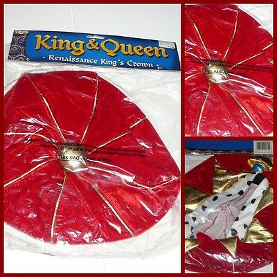Halloween Renaissance KING's Crown  Costume  Play Dress Up](Renaissance Crown)