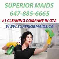 Call Superior Maids the best cleaning company in Oakville/GTA