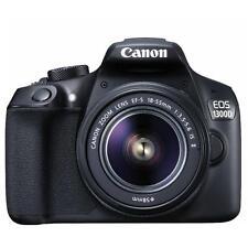 Canon EOS 1300D + 18-55 DC, Fotocamera Reflex digitale, Black